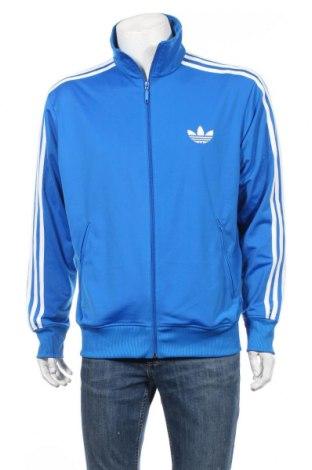 Мъжко спортно горнище Adidas Originals, Размер L, Цвят Син, 100% полиестер, Цена 42,84лв.