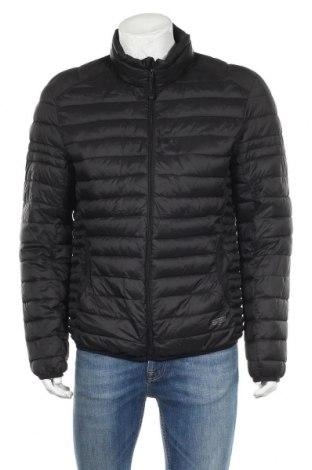 Мъжко яке Pull&Bear, Размер XL, Цвят Черен, Цена 49,35лв.