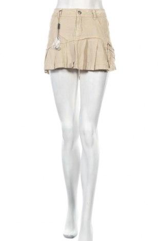 Пола Dromedar, Размер M, Цвят Бежов, 45% памук, 55% лен, Цена 6,01лв.