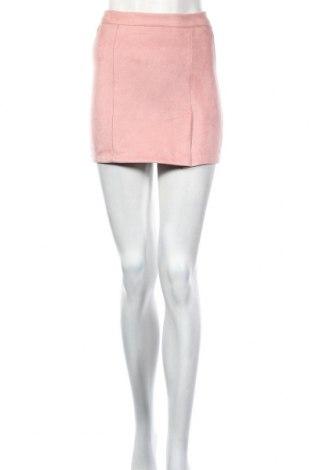 Пола Pull&Bear, Размер XXS, Цвят Розов, 92% полиестер, 8% еластан, Цена 21,95лв.