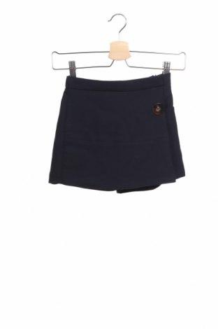 Пола-панталон Zara Kids, Размер 7-8y/ 128-134 см, Цвят Син, 64% полиестер, 32% вискоза, 4% еластан, Цена 21,45лв.