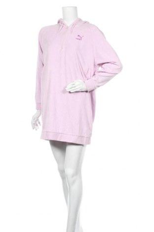Рокля PUMA, Размер M, Цвят Розов, 68% памук, 32% полиестер, Цена 32,34лв.