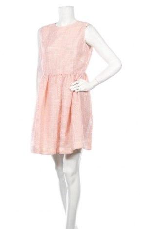 Φόρεμα Red Valentino, Μέγεθος XL, Χρώμα Ρόζ , 56% πολυεστέρας, 16% πολυαμίδη, 15%ακρυλικό, 7% μαλλί, 6% βαμβάκι, Τιμή 105,94€