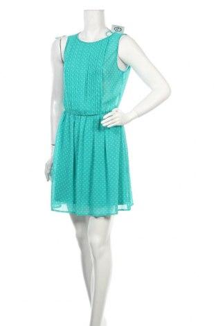 Рокля Zara Trafaluc, Размер M, Цвят Зелен, Цена 10,80лв.