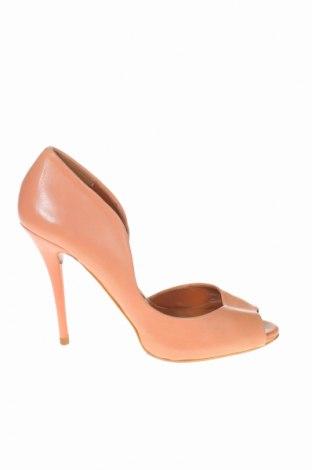 Σανδάλια Zara, Μέγεθος 40, Χρώμα Ρόζ , Γνήσιο δέρμα, Τιμή 21,65€