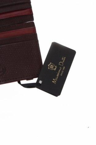 Визитник Massimo Dutti, Цвят Лилав, Естествена кожа, Цена 44,25лв.