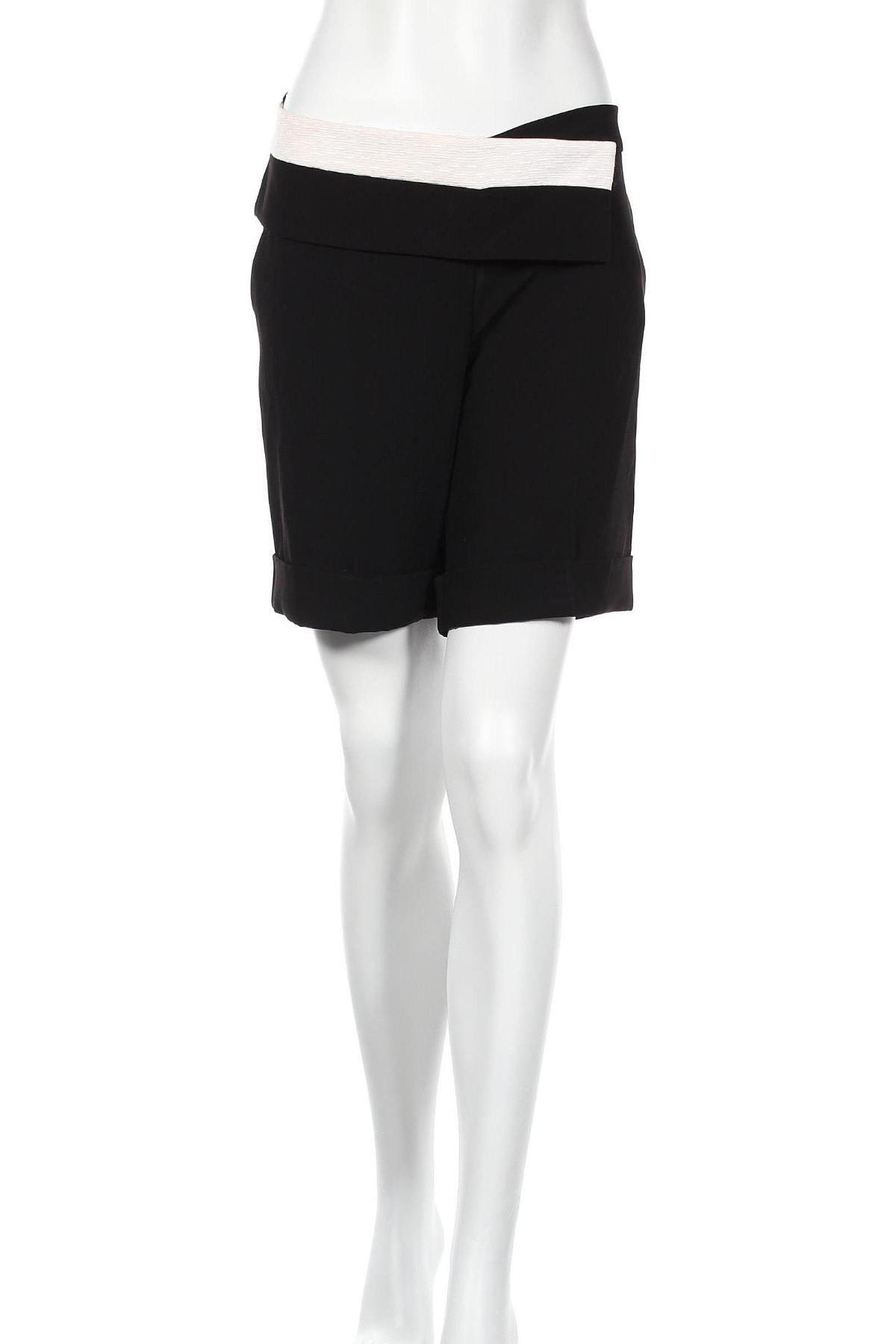 Дамски къс панталон Cop.copine, Размер L, Цвят Черен, 91% полиестер, 9% еластан, Цена 46,50лв.