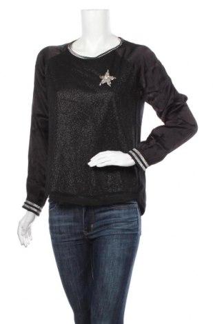 Дамска блуза Cartoon, Размер S, Цвят Черен, Памук, полиестер, вискоза, Цена 53,72лв.