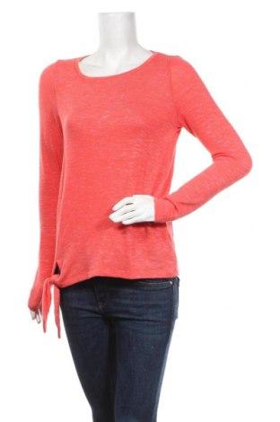 Bluzka damska Esprit, Rozmiar S, Kolor Czerwony, 56% poliester, 40% wiskoza, 4% elastyna, Cena 66,00zł