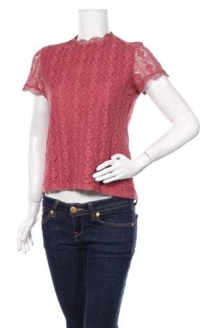 Дамска блуза Esprit, Размер S, Цвят Розов, 80% памук, 20% вискоза, Цена 18,00лв.