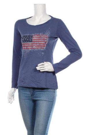 Bluză de femei Esprit, Mărime M, Culoare Albastru, 100% bumbac, Preț 86,21 Lei