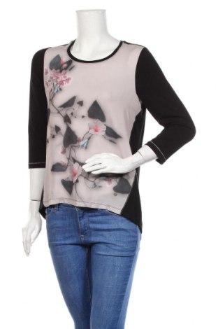 Дамска блуза Gina Laura, Размер M, Цвят Многоцветен, Полиестер, вискоза, еластан, Цена 19,50лв.