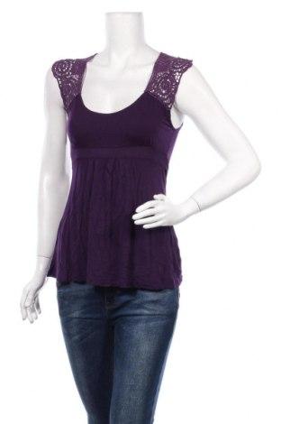 Bluză de femei Lascana, Mărime XS, Culoare Mov, Viscoză, Preț 86,21 Lei