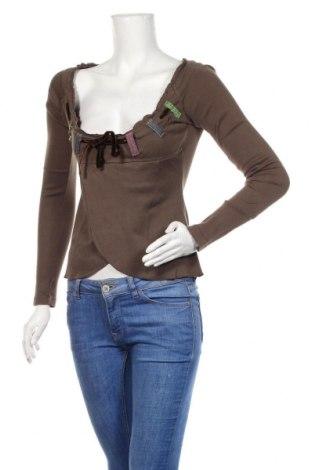 Γυναικεία μπλούζα Miss Sixty, Μέγεθος S, Χρώμα Καφέ, Βαμβάκι, Τιμή 14,84€