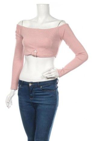 Bluză de femei Missguided, Mărime XS, Culoare Mov deschis, 95% bumbac, 5% elastan, Preț 53,05 Lei