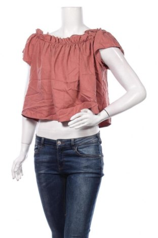 Bluză de femei Reserved, Mărime M, Culoare Roz, 72% lyocell, 28% poliester, Preț 86,21 Lei