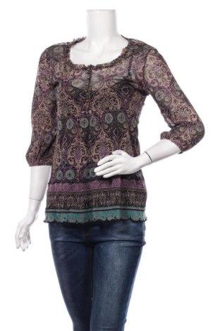 Bluză de femei S.Oliver, Mărime M, Culoare Multicolor, 95% bumbac, 5% elastan, Preț 86,21 Lei