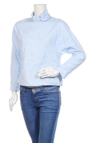 Bluzka damska Zara, Rozmiar M, Kolor Niebieski, Bawełna, Cena 81,00zł