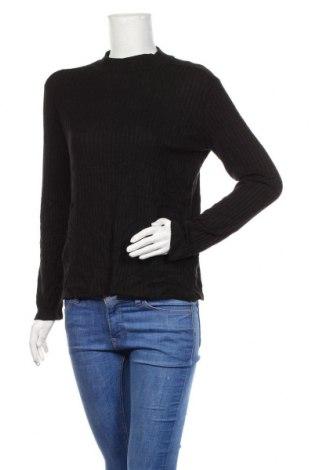 Bluză de femei Zara, Mărime XL, Culoare Negru, 51% viscoză, 29% poliester, 20% poliamidă, Preț 41,78 Lei
