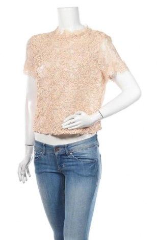 Bluză de femei Zara Trafaluc, Mărime L, Culoare Roz, Preț 64,15 Lei