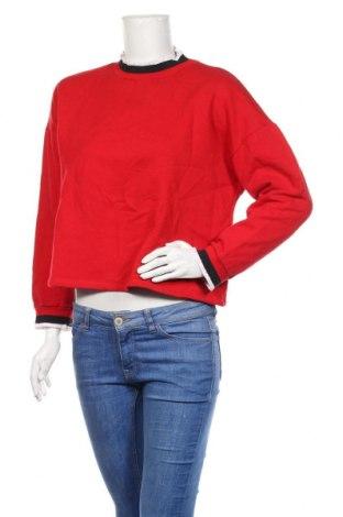 Bluză de femei Zara Trafaluc, Mărime S, Culoare Roșu, Preț 51,73 Lei