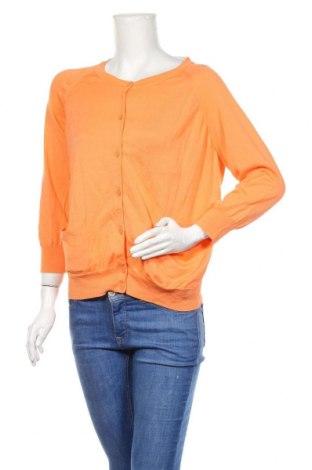 Дамска жилетка COS, Размер L, Цвят Оранжев, Цена 43,50лв.