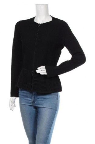 Cardigan de damă Emporio Armani, Mărime M, Culoare Negru, 55% viscoză, 44% poliamidă, 1% elastan, Preț 617,93 Lei