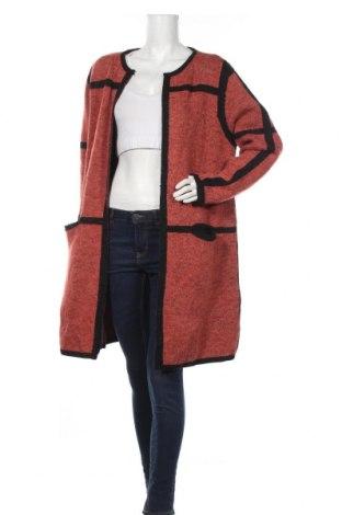 Dámsky kardigán Suzy by Suzy Shier, Velikost XL, Barva Červená, 80%acryl, 20% polyamide, Cena  510,00Kč