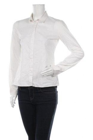 Cămașă de femei Armani Jeans, Mărime L, Culoare Alb, 70% bumbac, 26% poliamidă, 4% elastan, Preț 171,10 Lei