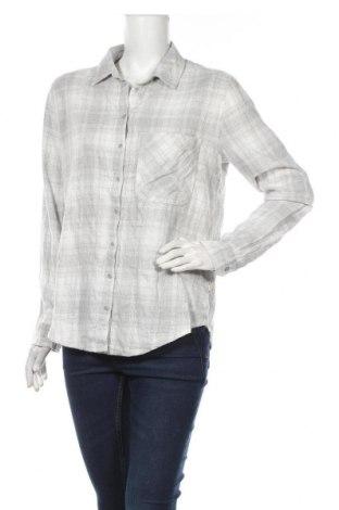 Дамска риза Garage, Размер S, Цвят Сив, Памук, Цена 19,95лв.