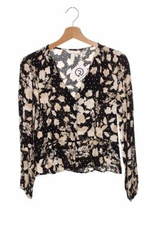 Дамска риза H&M, Размер XS, Цвят Многоцветен, Вискоза, Цена 19,50лв.
