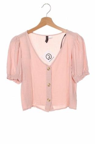 Дамска риза H&M Divided, Размер XXS, Цвят Розов, Вискоза, Цена 18,00лв.