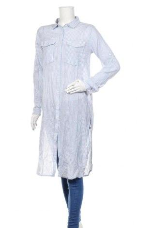 Γυναικείο πουκάμισο Herrlicher, Μέγεθος S, Χρώμα Μπλέ, Βαμβάκι, Τιμή 42,94€