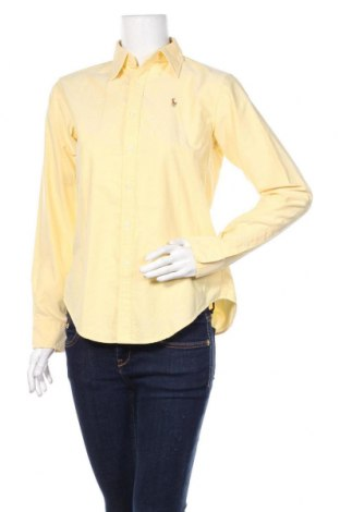 Γυναικείο πουκάμισο Ralph Lauren, Μέγεθος S, Χρώμα Κίτρινο, Βαμβάκι, Τιμή 22,27€