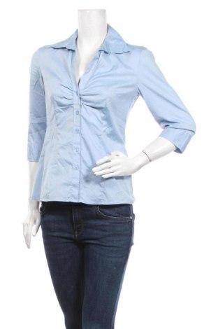 Dámská košile  S.Oliver, Velikost S, Barva Modrá, 70% bavlna, 26% polyamide, 4% elastan, Cena  287,00Kč
