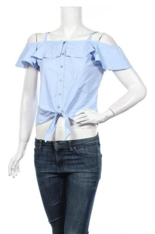 Dámská košile  Tally Weijl, Velikost S, Barva Modrá, 86% polyester, 14% bavlna, Cena  414,00Kč