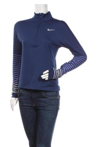 Dámská sportovní halenka Nike, Velikost XS, Barva Modrá, 88% polyester, 12% elastan, Cena  670,00Kč