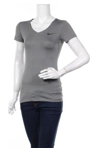 Damski T-shirt Nike, Rozmiar S, Kolor Szary, 87% poliester, 13% elastyna, Cena 76,50zł