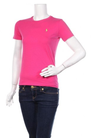 Γυναικείο t-shirt Ralph Lauren, Μέγεθος M, Χρώμα Ρόζ , Βαμβάκι, Τιμή 17,63€