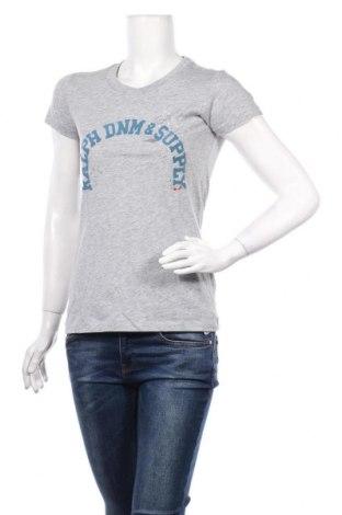 Γυναικείο t-shirt Ralph Lauren, Μέγεθος S, Χρώμα Γκρί, Τιμή 16,24€