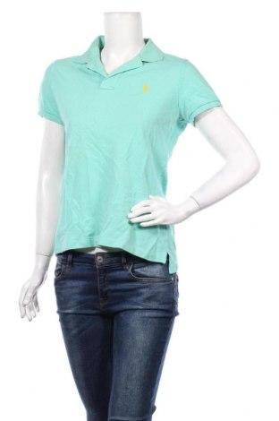 Γυναικείο t-shirt Ralph Lauren, Μέγεθος M, Χρώμα Πράσινο, Βαμβάκι, Τιμή 17,54€