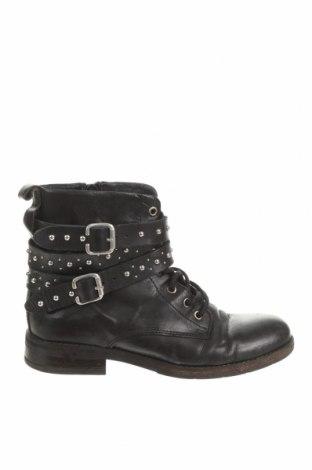 Dámské boty  Buffalo, Velikost 37, Barva Černá, Pravá kůže, Cena  622,00Kč