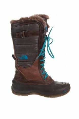 Cizme de damă The North Face, Mărime 40, Culoare Maro, Textil, piele ecologică, Preț 310,85 Lei