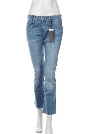 Blugi de femei Guess, Mărime L, Culoare Albastru, 99% bumbac, 1% elastan, Preț 404,11 Lei