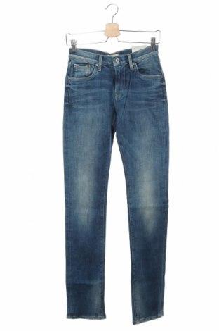 Blugi de femei Pepe Jeans, Mărime XS, Culoare Albastru, 99% bumbac, 1% elastan, Preț 305,76 Lei