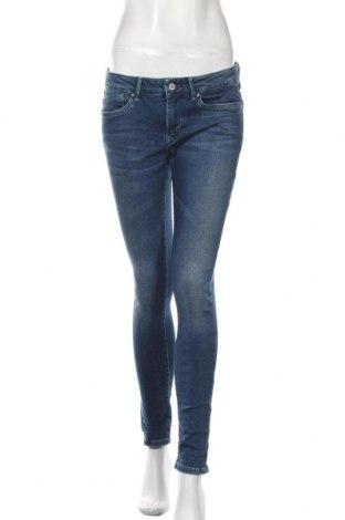 Blugi de femei Pepe Jeans, Mărime M, Culoare Albastru, 99% bumbac, 1% elastan, Preț 361,35 Lei