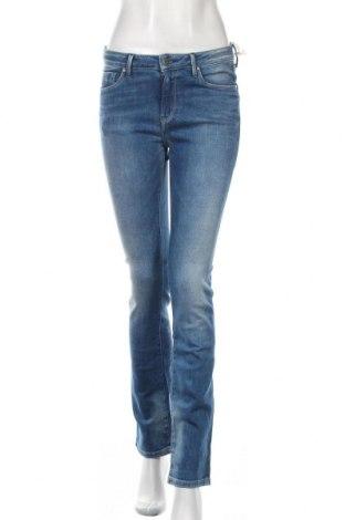 Blugi de femei Pepe Jeans, Mărime S, Culoare Albastru, 93% bumbac, 6% poliester, 1% elastan, Preț 322,43 Lei