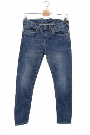 Дамски дънки Pepe Jeans, Размер S, Цвят Син, 99% памук, 1% еластан, Цена 39,00лв.