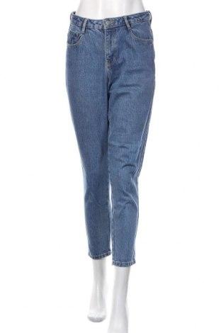 Blugi de femei Zara Trafaluc, Mărime S, Culoare Albastru, Preț 86,35 Lei