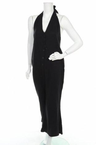 Salopetă de femei Zara Trafaluc, Mărime M, Culoare Negru, Lyocell, Preț 103,62 Lei